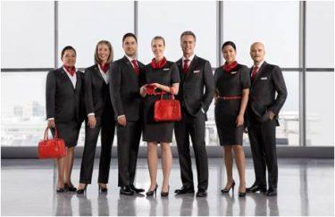 エア・カナダ、客室乗務員をはじめ新ユニフォーム(制服)を発表 2017.2.15