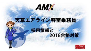 天草エアライン客室乗務員採用情報と2018合格対策。2600名合格のヒミツを公開!