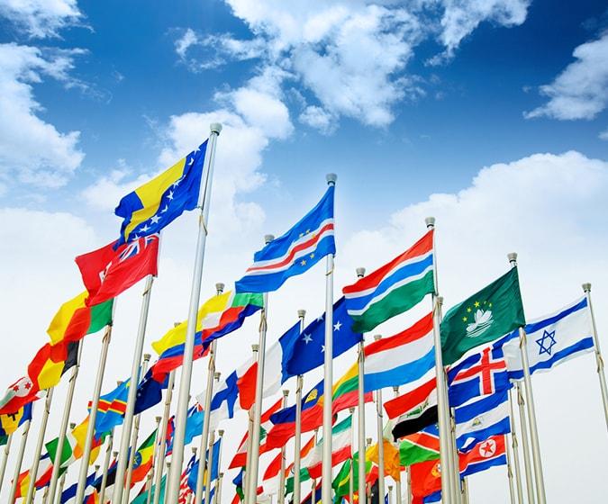 英語をはじめとする30カ国語以上の言語に対応